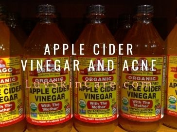 Apple Cider Vinegar and Acne