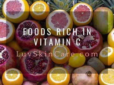 Foods Rich in Vitamin C